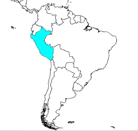 Similiar Country Of Peru-Map Latin America Peru Holiday An