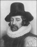 Thomas Bacon, known for the Scientific Method and for his cool combination of dapper hat, moustache-goatee combo, and stylish  collar.