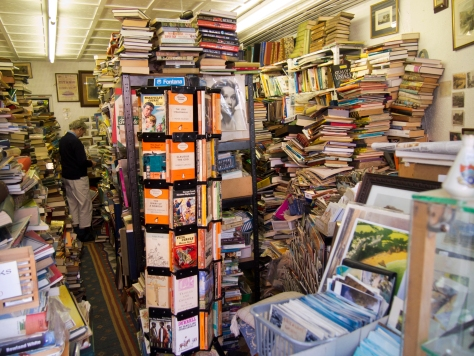 Bookstore in Tenby