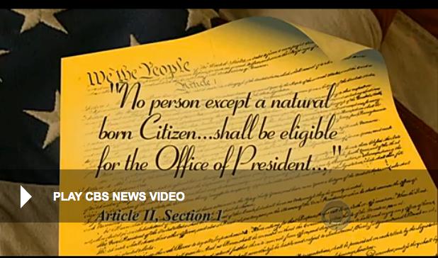 CBS News Constitution