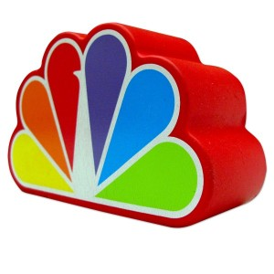"You can buy the ""NBC Stress Toy"" from the NBC Universal Store."