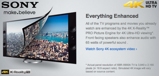 Sony-4KTV