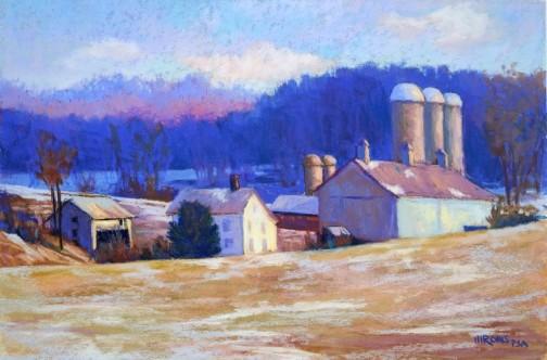 Carroll County Farm by Jean Hirons