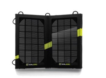 GoalZero's external solar charger is convenient, but this technology should be built into every portable device.