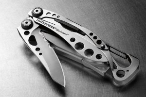 The Leatherman Skeletool.