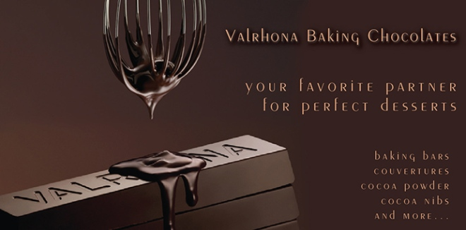 Valrhona? Just based upon this web advertisement, I'm sold. (And you?)