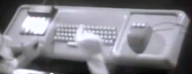 A very early version of a computer mouse as explained by its inventor, Douglas Engelbart.