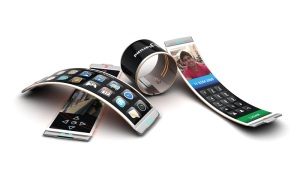 OLED technology allows for flexible phone design. For more, click on the link to read a good article in TechWhiz.