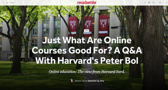 Harvard-MOOC