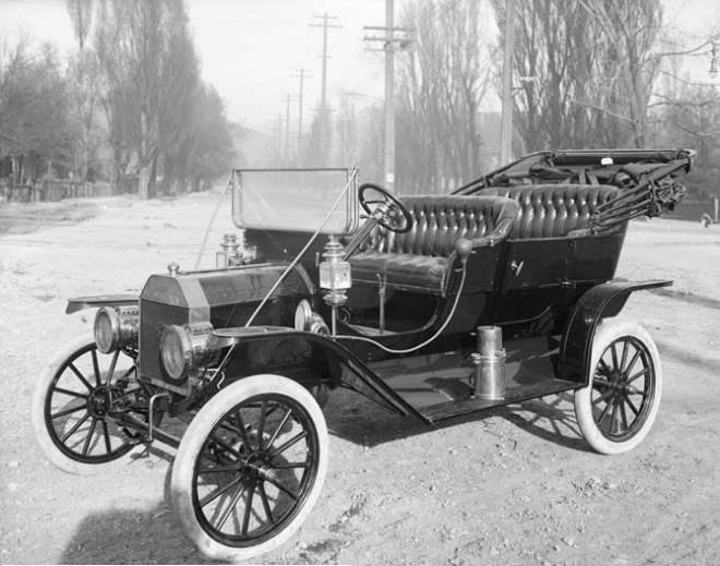 Ford Model T, circa 1910. Buy it for $850 or rent it for 10 cents a mile.
