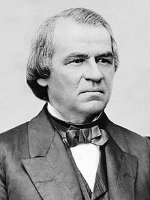 President Andrew Johnson, whose extensive political career included time as a Senator and Congressman from Tennessee, and its  governor. He also reached the rank of Brigadier General in the Union Army.