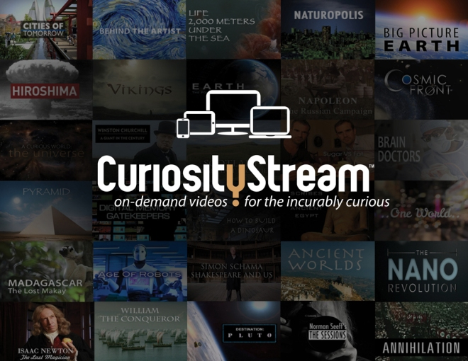For a look at Curiosity Stream's demo site, click on the image above.
