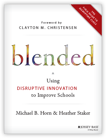 Books print digital insider disruptive innovation to improve schools a new book by clayton christensens acolytes michael b horn and heather staker instead there are qr codes fandeluxe Images