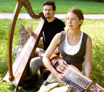 The trail of connections extends over an extremely wide portion of time and space. These contemporary Swedish musicians play on the nyckelharpa and harp. The connection between Sweden and North Carolina is, perhaps, not so far as anyone might think.