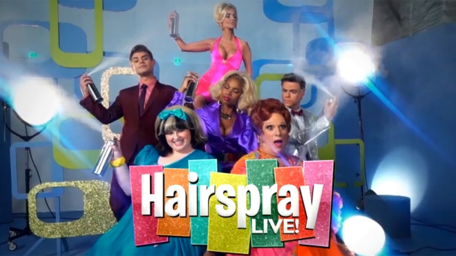 Hstairspray Live cast
